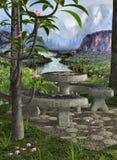 Jardín secreto ilustración del vector