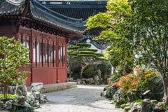 Jardín Shangai China de Yuyuan Imagen de archivo