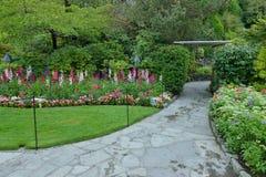 Jardín Sunken Fotografía de archivo