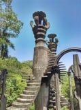 Jardín surrealista Fotos de archivo libres de regalías