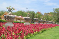 Jardín Tailandia Imagen de archivo libre de regalías