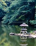 Jardín tranquilo japonés Fotografía de archivo