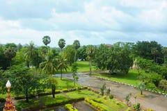 Jardín tropical Imagen de archivo