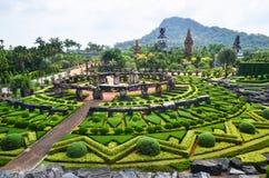 Jardín tropical de Nong Nooch en Pattaya, Tailandia Fotos de archivo