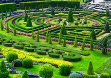 Jardín tropical de Nong Nooch en Pattaya, Tailandia Foto de archivo libre de regalías