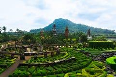 Jardín tropical de Nong Nooch en Pattaya, Tailandia Imagenes de archivo