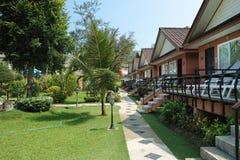 Jardín tropical en Tailandia Imagen de archivo