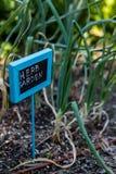 Jardín urbano Imagen de archivo libre de regalías