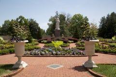 Jardín victoriano en el jardín botánico de Missouri, ST Louis MO imágenes de archivo libres de regalías