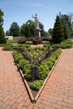 Jardín victoriano en el jardín botánico de Missouri, ST Louis MO foto de archivo libre de regalías