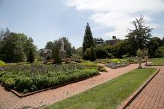 Jardín victoriano en el jardín botánico de Missouri, ST Louis MO imagen de archivo libre de regalías