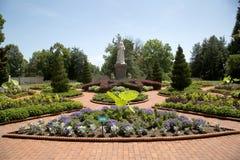 Jardín victoriano en el jardín botánico de Missouri, ST Louis MO fotografía de archivo libre de regalías