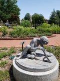 Jardín victoriano en la opinión de jardín botánico de Missouri, ST Louis MO fotografía de archivo libre de regalías