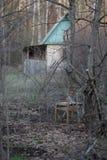 Jardín viejo en tiempo de primavera Fotos de archivo libres de regalías