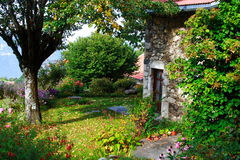 Jardín viejo hermoso Fotografía de archivo libre de regalías