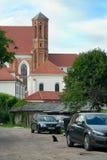 Jard w UÅ ¾ upis, Vilnius Fotografia Royalty Free