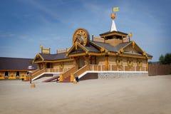 Jarda complexa do russo do museu Fotografia de Stock Royalty Free