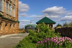 Jarda da igreja ortodoxa imagem de stock royalty free