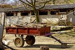 Jarda de exploração agrícola Fotos de Stock