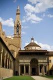 Jarda de Santa Croce, Florença, Italy Imagens de Stock Royalty Free