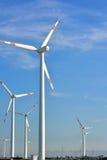 Jarda do gerador do moinho de vento Fotografia de Stock Royalty Free