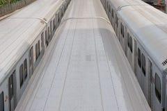 Jarda do metro Foto de Stock