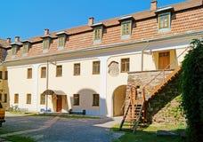 Jarda do monastério em Buchach Imagens de Stock Royalty Free