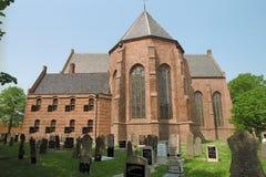 Jarda grave do grande de Sint-Gertrudischurch Imagens de Stock