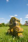 Jarda grave no Dutch Terschelling Imagens de Stock Royalty Free