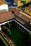 Jarda interna de Tuscan Foto de Stock Royalty Free
