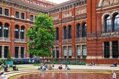 Jarda interna de Victoria e de Albert Museum Fotos de Stock Royalty Free