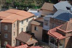 Jarda na cidade velha de Tbilisi em Geórgia fotografia de stock royalty free