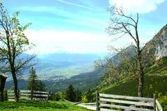 Jarda na montanha Foto de Stock
