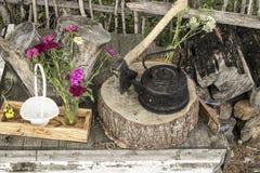 Jarda rural Imagens de Stock