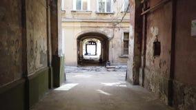 Jarda velha em Odessa video estoque