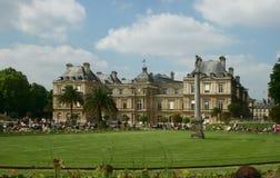 Jardain du Luxemburg. Luxemburg palace in Paris Royalty Free Stock Images