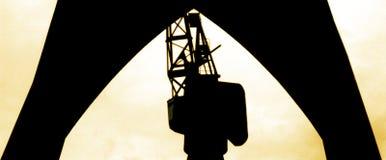 Jardas do navio Imagem de Stock Royalty Free