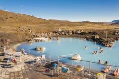 Jardbodin Lagoon - Iceland. Stock Image