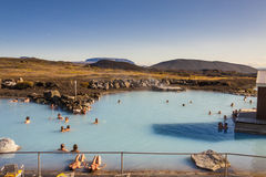 Jardbodin Lagoon - Iceland. Royalty Free Stock Photography