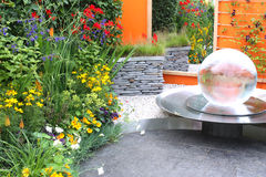 Jardim à moda Fotos de Stock Royalty Free