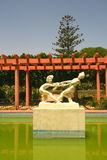 Jardim árabe pitoresco imagens de stock royalty free