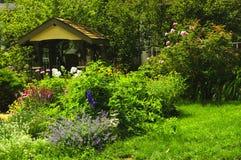 Jardim ajardinado Fotografia de Stock