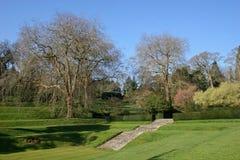Jardim ajardinado Fotos de Stock Royalty Free