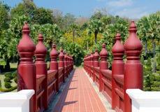 Jardim ajardinado Flora Ratchaphruek real Imagens de Stock