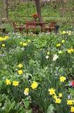 Jardim ajardinado natural Foto de Stock