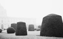Jardim austríaco Sculptured Fotos de Stock