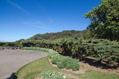 Jardim bonito, beleza ajardinando do jardim público da mola Fotos de Stock Royalty Free
