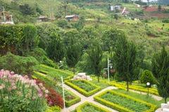 jardim bonito no do norte de Tailândia Imagem de Stock Royalty Free