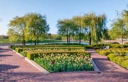 Jardim botânico de Chicago fotografia de stock
