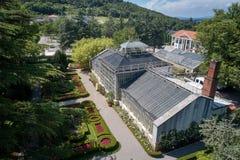 Jardim botânico do ¾ ana de SeÅ, século XIX, Eslovênia foto de stock royalty free